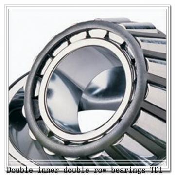 100TDO215-2 Double inner double row bearings TDI