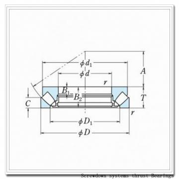 252TTsv958 screwdown systems thrust Bearings