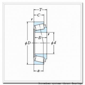 T511fsa-T511s screwdown systems thrust Bearings